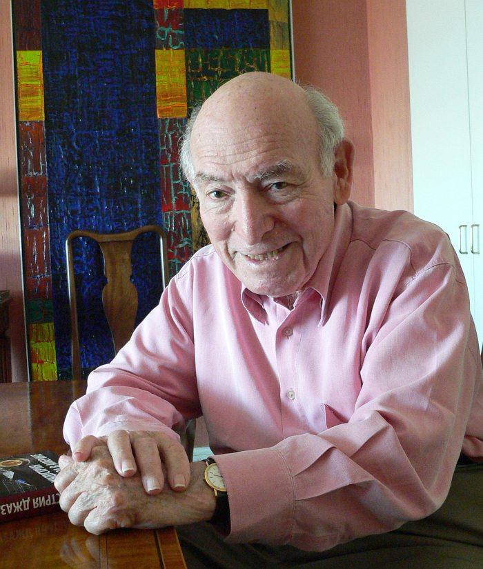 Джордж Уэйн у себя дома в Нью-Йорке лето 2010 (фото автора)