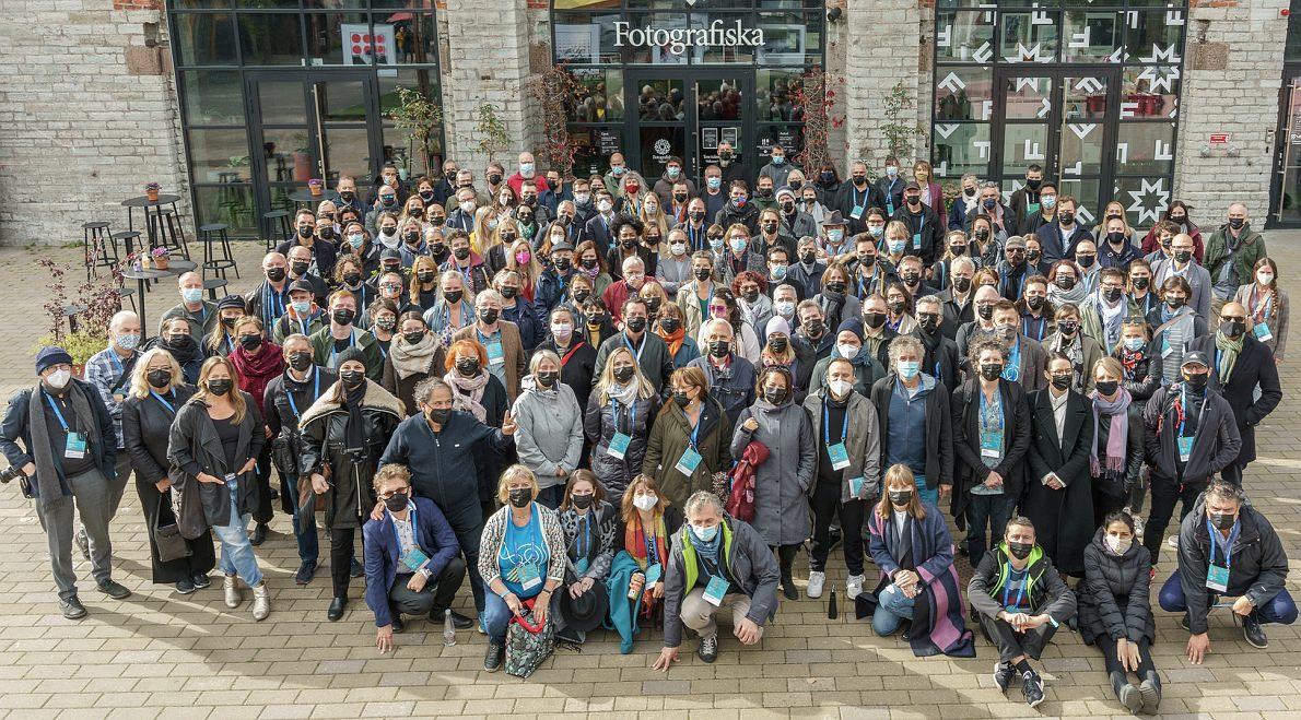Делегаты и гости Europe Jazz Conference-2021