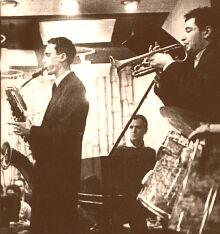 Слева - Алексей Козлов, справа - Андрей Товмасян, 1962.
