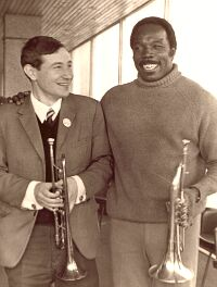 Андрей Товмасян и Тэд Джонс, 1972