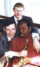 Владимир Данилин (стоит), Андрей Товмасян, Тэд Джонс, 1974