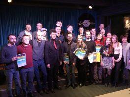 Участники и жюри конкурса в клубе EverJazz