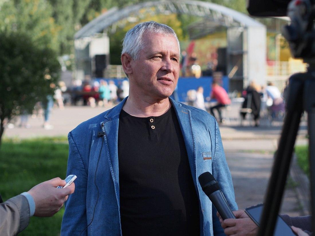 Художественный руководитель фестиваля «Сентябрь в Тихвине» Игорь Володин