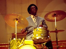 Art Blakey, 1973 (photo © Heinrich Klaffs)