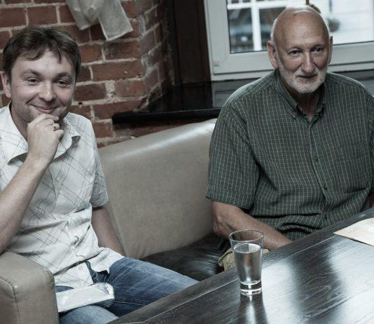Алексей Круглов и Лео Фейгин (фото © Андрей Ткаченко)