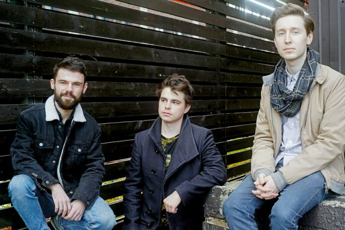 Arseny Rykov Trio: Dmitry Olshansky, Vitaly Epov, Arseny Rykov (photo © Ivan Pustovalov)