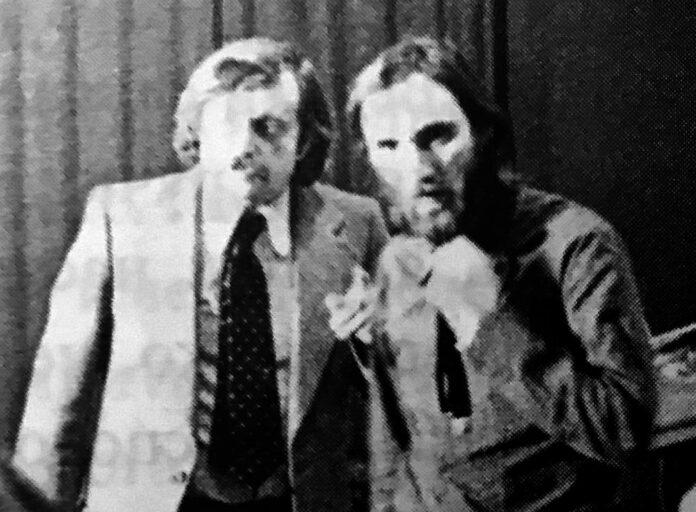 Василий Аксёнов и Алексей Козлов, Москва, 1974