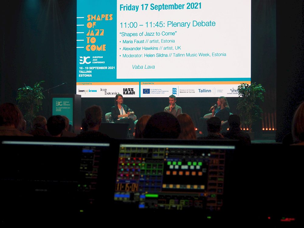 European Jazz Conference-2021: пленарная дискуссия